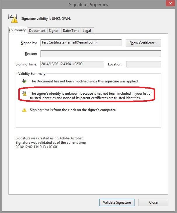 How to Validate Digital Signatures in Adobe? – Greytip